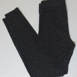 PINK Victoria's Secret Leggings Cotton - Black -XS
